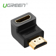 UGREEN 20109 Right Angel HDMI Male to Female Adapter