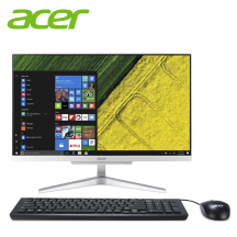 "Acer Aspire C22820-4125W10 21.5"" FHD AIO Desktop PC ( Celeron J4125, 4GB, 1TB, Intel, W10H )"
