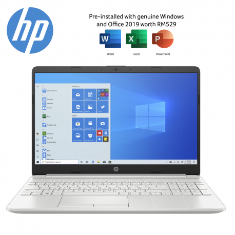 HP 15s-du2029TX 15.6'' FHD Laptop Natural Silver ( i7-1065G7, 4GB, 512GB SSD, MX330 2GB, W10, HS )
