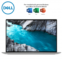 Dell XPS13 9300-3585SG-FHD 13.4'' FHD Laptop Platinum Silver ( i5-1035G1, 8GB, 512GB SSD, Intel, W10, HS )