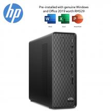 HP Slim S01-PF0312D Desktop PC ( i3-9100, 4GB, 1TB, Intel, W10, HS )