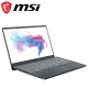 MSI Prestige 14 A10RAS-087MY 14'' FHD Laptop Carbon Gray ( i7-10510U, 16GB, 512GB SSD, MX330 2GB, W10 )