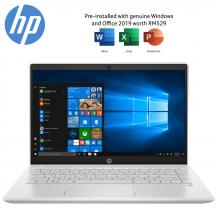 "HP Pavilion 14-ce3077TX 14"" FHD Laptop Mineral Silver ( i7-1065G7, 8GB, 512GB SSD, MX250 2GB, W10, HS )"
