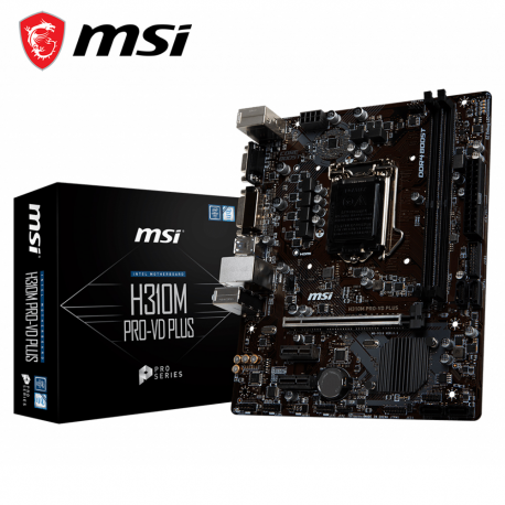 MSI H310M PRO-VD PLUS Motherboard (Intel LGA1151)