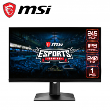 "MSI Optix MAG251RX 24.5"" FHD Gaming Monitor (HDMI, DisplayPort, USB Type-C, 3Yrs Warranty)"