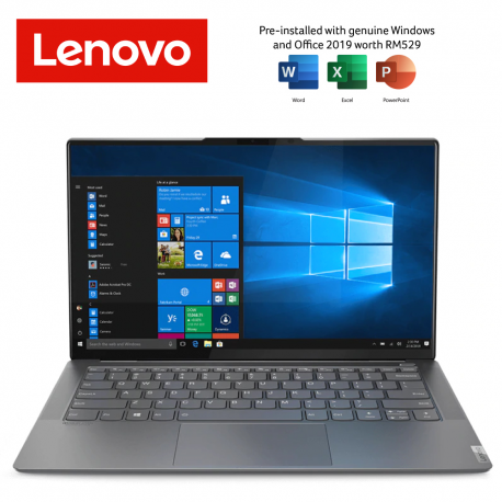 Lenovo Yoga S940-14IIL 81Q8004GMJ 14'' UHD Laptop Iron Grey ( i7-1065G7, 8GB, 1TB SSD, Intel, W10, HS )