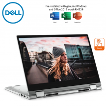 Dell Inspiron 14 5400 3585SG-W10 14'' FHD Touch 2in1 Laptop Silver ( i5-1035G1, 8GB, 512GB SSD, Intel, W10, HS )