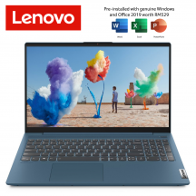 Lenovo IdeaPad 5 15IIL05 81YK00P4MJ 15.6'' FHD Laptop Light Teal ( i5-1035G1, 8GB, 512GB SSD, MX350 2GB, W10, HS )