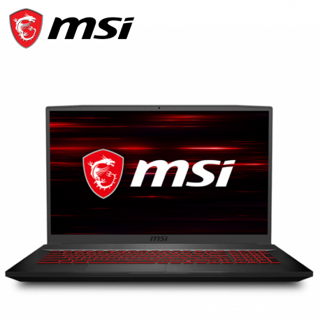 MSI Thin GF75 10SDR-452 17.3'' FHD 144Hz Gaming Laptop ( i7-10750H, 8GB, 512GB SSD, GTX1660Ti 6GB, W10 )