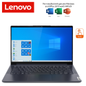 Lenovo Yoga Slim 7 14IIL05 82A10048MJ 14'' FHD Touch Laptop Slate Grey ( i7-1065G7, 16GB, 512GB SSD, MX350 2GB, W10 )