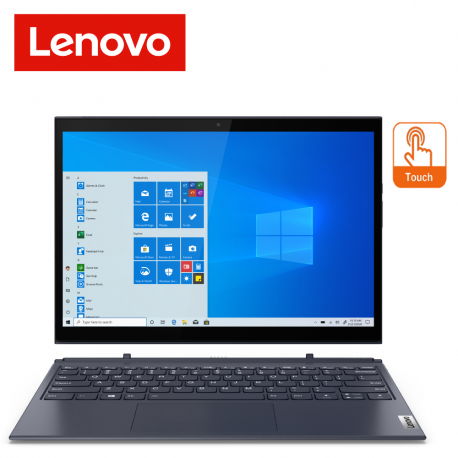 Lenovo Yoga Duet 7 13IML05 82AS007HMJ 13.3'' WQHD Touch Laptop Slate Grey ( i7-10510U, 8GB, 512GB SSD, Intel, W10 )