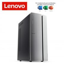 Lenovo Ideacentre 510-15ICK 90LU001LMI Desktop PC ( i5-9400, 4GB, 1TB, GT730 2GB, W10, HS )