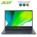 Acer Swift 3x SF314-510G-761J 14'' FHD Laptop Steam Blue ( i7-1165G7, 16GB, 512GB SSD, Iris Xe Max, W10, HS )