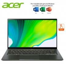 Acer Swift 5 SF514-55TA-79W5 14'' FHD Touch Laptop Mist Green ( i7-1165G7, 16GB, 512GB SSD, Iris Xe, W10, HS )