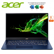 """Acer Swift 5 SF514-54T-52AS 14"""" FHD IPS Touch Laptop Charcoal Blue ( i5-1035G1, 8GB, 512GB SSD, Intel, W10 )"""