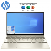 HP ENVY 13-ba1011TX 13.3'' FHD Laptop Pale Gold ( i7-1165G7, 16GB, 512GB SSD, MX450 2GB, W10, HS )