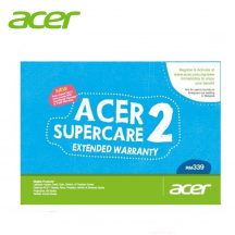 Acer Supercare 2 ( 1 to 3 Years Extension Warranty ) - For Price above RM2500
