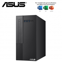 ASUS EXPERT CENTER X5 X500MA-R4300G001TS Desktop PC ( R3-4300G, 4GB, 256GB SSD, ATI, W10, HS )