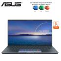Asus ZenBook 14 UX435E-GAI050TS 14'' FHD Touch Laptop Pine Grey ( i7-1165G7, 16GB, 512GB SSD, MX450 2GB, W10, HS )