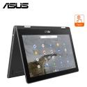 "Asus Chromebook C214M-ABW0472 11.6"" Touch Laptop Dark Grey ( Celeron N4020, 8GB, 64GB, Intel, Chrome Os )"