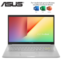 Asus VivoBook 14 M413D-AEK253TS 14'' FHD Laptop Dreamy White ( Ryzen 3 3250U, 4GB, 512GB SSD, ATI, W10, HS )