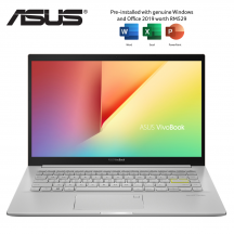 Asus VivoBook 14 K413E-AAM870TS 14'' FHD Laptop Hearty Gold ( i5-1135G7, 8GB, 512GB SSD, Intel, W10, HS )