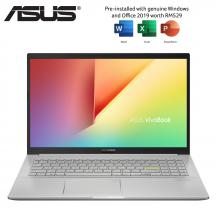 Asus VivoBook 15 K513E-ABN767TS 15.6'' FHD Laptop Hearty Gold ( i5-1135G7, 8GB, 512GB SSD, Iris Xe, W10, HS )