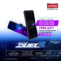 "Lenovo Legion Phone Duel 2 6.92"" AMOLED PAMB0074MY/PAMB0075MY Ultimate Black"