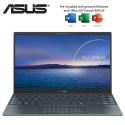 Asus ZenBook 13 UX325E-AKG355TS 13.3'' OLED FHD Laptop Pine Grey ( i5-1135G7, 8GB, 512GB SSD, Intel, W10, HS )