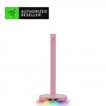 Razer Base Station V2 Chroma - Quartz Headset Stand USB Hub
