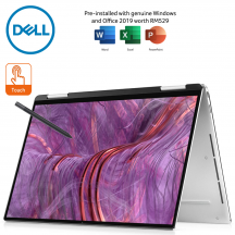 Dell XPS13 2-in-1 (9310) 3582SG-FHD 13.4'' FHD+ Touch Laptop Platinum Silver ( i5-1135G7, 8GB, 256GB SSD, Intel, W10, HS )