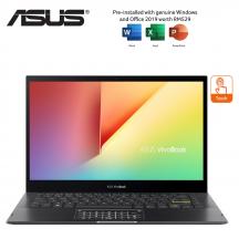 Asus VivoBook Flip 14 TP470E-AEC240TS 14'' FHD Touch Laptop Indie Black ( i5-1135G7, 8GB, 512GB SSD, Intel, W10, HS )