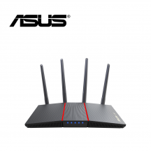 Asus Router RT-AX55 AX1800 Dual Band WiFi6 (802.11ax) AiProtection-Trend Micro AiMesh