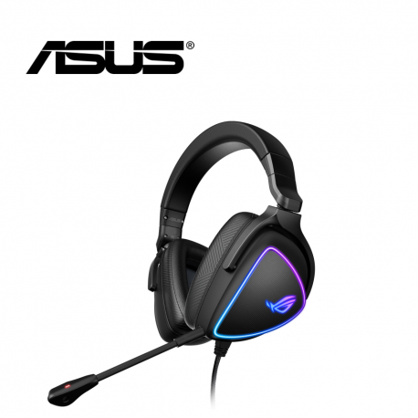 ASUS ROG Delta S Gaming Headset with Aura Sync RGB Lighting Noise Canceling