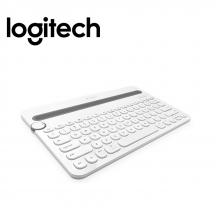 Logitech K480 Bluetooth Multi-Device Keyboard White - 920-006381