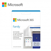 Microsoft Office 365 Family (6 User) - ESD Version (15 MONTHS)