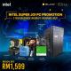 [PC Package] Intel I3 10105F DIY Desktop PC - Suitable for Work / Medium Gaming / Web Browsing