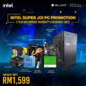 [PC Package] Intel I3 10105F GT1030 DIY Desktop PC - Suitable for Work / Medium Gaming / Web Browsing