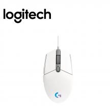 Logitech G102 Usb Gaming Lightsync Mouse (910-005803) - White
