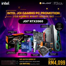 [PC Package] Intel I5 10400F DIY RTX2060 Gaming Desktop PC - Suitable for Work / Gaming / Web Browsing