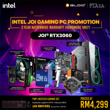 [PC Package] Intel I5 10400F DIY RTX3060 Gaming Desktop PC - Suitable for Work / Gaming / Web Browsing
