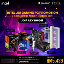 [PC Package] Intel I5 10400F DIY RTX3060TI Gaming Desktop PC - Suitable for Work / Gaming / Web Browsing
