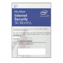 McAfee E-Card Internet Security - 1 User (3 Years)