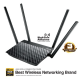ASUS RT-AC1300UHP AC1300 Dual-Band Wi-Fi Router with MU-MIMO and Parental Controls