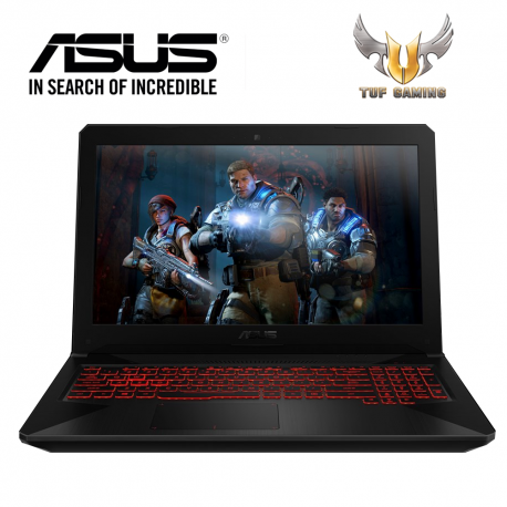 "Asus TUF FX504G-DE4092T 15.6"" FHD Gaming Laptop (i7-8750HQ, 4GB, 1TB, GTX1050 4GB, W10)"