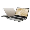"Asus Vivobook A407M-ABV101T 14"" Laptop Gold (Pentium N5000, 4GB, 256GB, Intel, W10)"