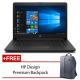 "HP 14-ck0096TU 14"" Laptop Black ( Celeron N4000, 4GB, 500GB, Intel, W10 )"