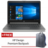 "HP 14-ck0097TU 14"" Laptop Silver ( Celeron N4000, 4GB, 500GB, Intel, W10 )"