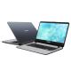 "Asus Vivobook A407U-ABV321T 14"" Laptop Grey (i3-8130U, 4GB, 1TB, Intel, W10)"