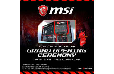 The Largest MSI Store Grand Opening!